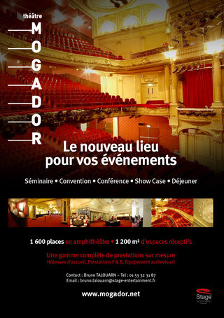 Théâtre Mogador - Publicités & photographies