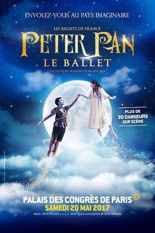 PETER PAN - Le Ballet au Palais des Congrès de Paris
