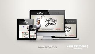 Luc Antoni - Site internet responsive design