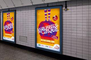 Salon Mondial du Cirque - affiches