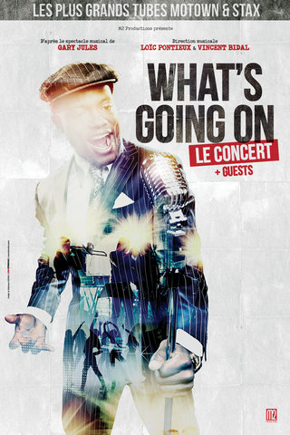 What's Going On, le concert - affiches