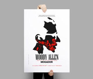 Woody Allen en concert - affiches