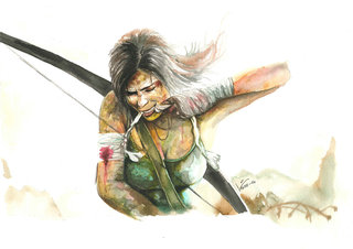 """Fan art de """"Tomb Raider"""""""