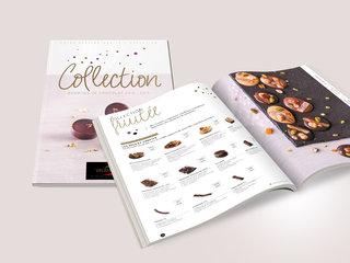 Catalogue de bonbons  de chocolats Valrhona