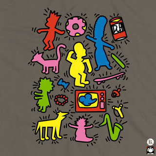 Haring-Simpsons