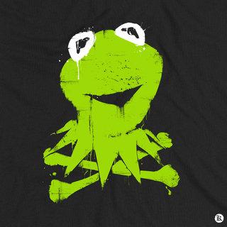 Kermit-pochoir