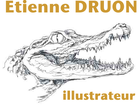 Etienne DRUON : EXPOSITIONS : Biennale internationale du carnet de voyage 2014 Clermont-Ferrand
