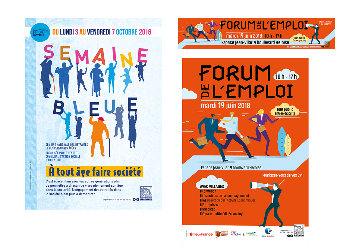 Semaine bleue et Forum de l'emploi