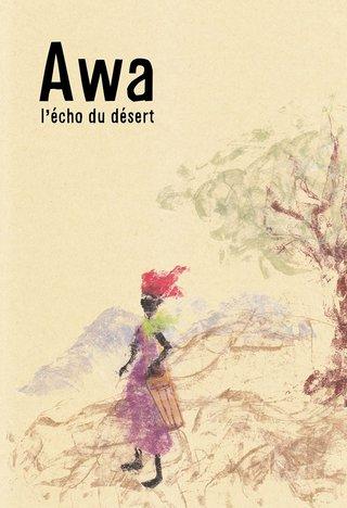 essai de couverture pour conte africain