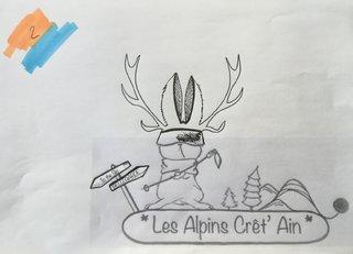 Logo lapin ski-club 2