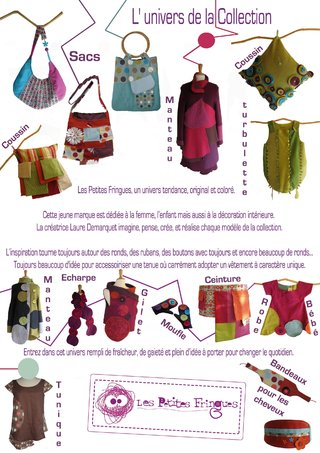 L'univers de la Collection les Petites Fringues