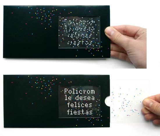 Laurence maigret portfolio print - Carte de voeux pop up ...