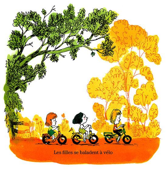 La balade en vélo