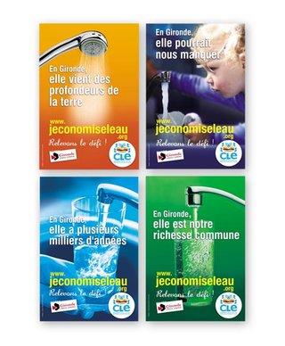 """Campagne """"L'eau précieuse"""" avec le SMEGREG Aquitaine"""