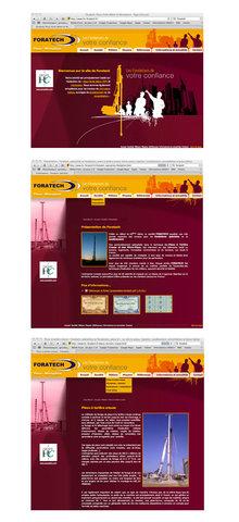 Site Internet de la société Foratech