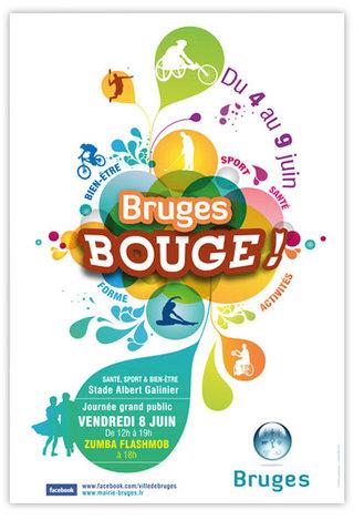 Affiche de Bruges Bouge