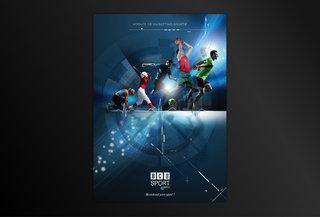 Couverture de la plaquette de BCO Sport Agency
