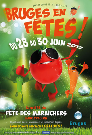 Affiche Bruges en fêtes