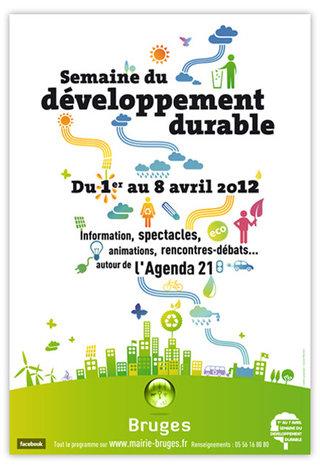 Affiche de la Semaine du Développement Durable - Bruges