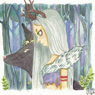 La gardienne de la forêt
