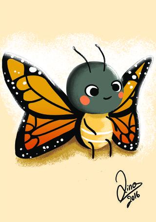 Marie le papillon