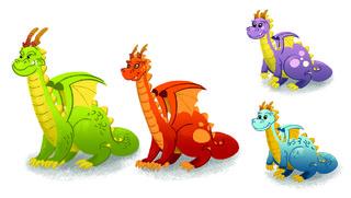 La famille dragon