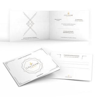 Invitation soirée client pour GRESHAM Banque Privée (Agence Arobace)