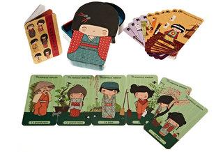 Jeu de 7 familles Kokeshi (Éditions Milan)