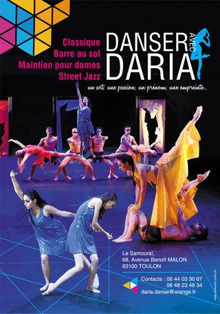 Flyer Danser avec Daria