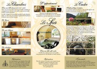 Flyer Chambres d'hôte