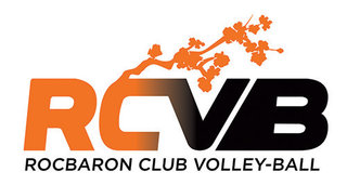 Logo pour le Rocbaron Club Volley-Ball