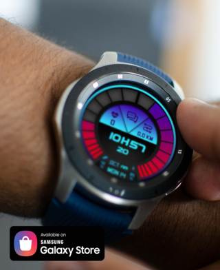 Retro Futurist Watchface