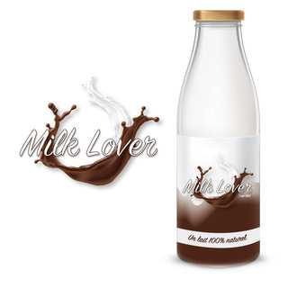 Logo MILK LOVER