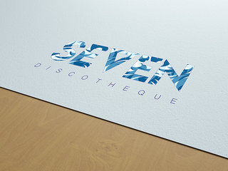 Création logo SEVEN discothèque