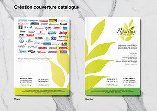 Création couverture de catalogue