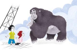 Un gorille à la tour Eiffel