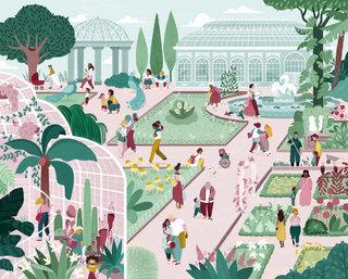 Puzzle Jardin Botanique