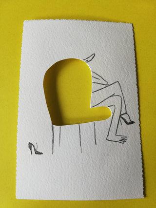 L'attente jaune