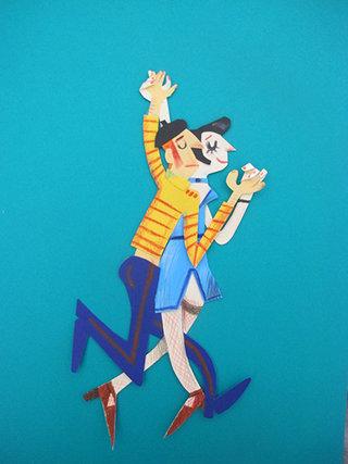 tango mou bleu