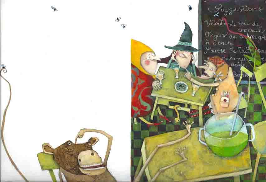 Trois sorcières et un bébé (Les p&#039;tites princesses/Fleurus Presse)<br/><span>Les p'tites princesses / Fleurus Presse (mai 2008)</span>