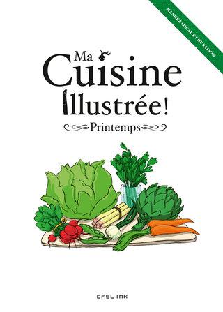 """""""Ma Cuisine illustrée-Printemps"""""""