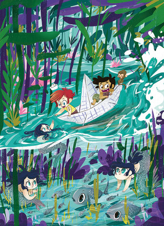 Little Stories 02-In the same boat ...