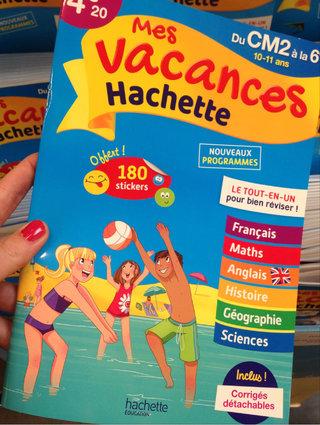 Mes vacances Hachette
