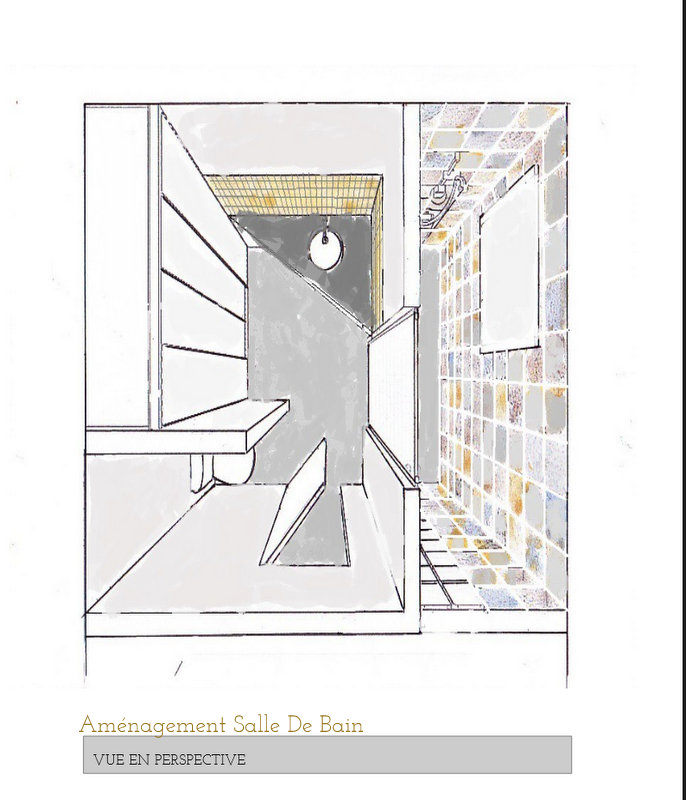 Perspective Salle De Bain Good Publicits With Perspective Salle - Perspective salle de bain