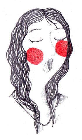 La cantatrice - Carterie