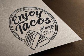 Logo création graphisme Enjoy Tacos