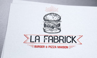 logo La Fabrick burger pizza