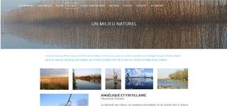 Refonte du site internet de la réserve naturelle de Frossay