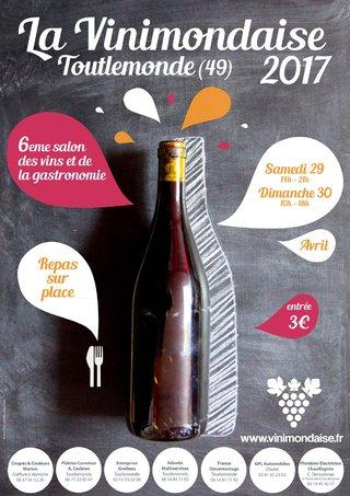 Affiche A3 Vinimondaise 2017