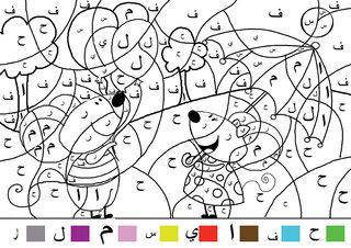 Coloriage codé